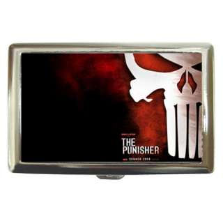 The Punisher Skull Mask Cigarette Money Case Wallet Ca