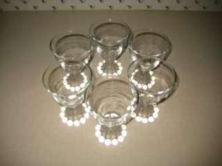 Anchor Hocking Berwick Boopie Wine/Juice Glasses