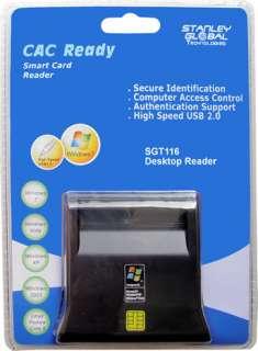 DOD USB CAC COMMON ACCESS SMART CARD DESKTOP ID READER