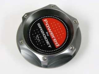 NISSAN SR20DET BLACK RED TOP DOHC ENGINE BILLET OIL CAP