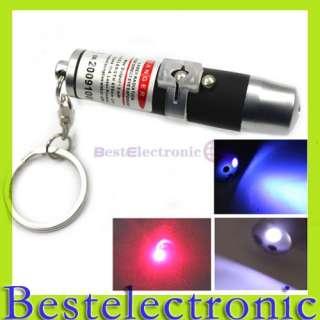 in 1 Red Laser Pointer Pen LED Flashlight Light Pen
