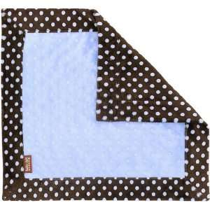 Blue Polka Dot Travel Blanket by Baby JaR Baby