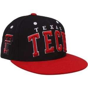 NCAA Zephyr Texas Tech Red Raiders Black Scarlet Superstar