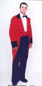 Ringmaster Suit Costume for Circus Big Top Adult Large