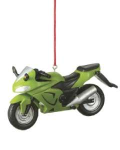 New Street Bike Motorcycle Racer Christmas Ornament