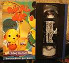 rolie polie olie telling the truth vhs rare htf