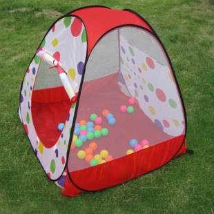 NWT Baby Family Polka Dot Teepee Pop up Play Tent House