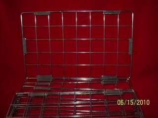 Chrome Plated Metal Grid Panel Cubes 10 x 16 50 pcs.