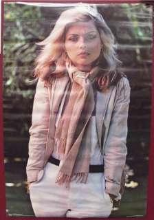 DEBBIE HARRY 1979 BLONDIE poster SEALED UNUSED rare
