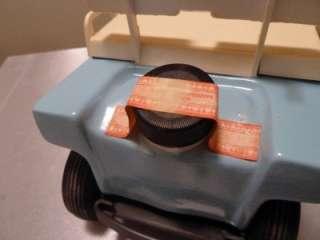 JIM BEAM Blue Golf Cart Car 1986 Whiskey Decanter Unopened Sealed
