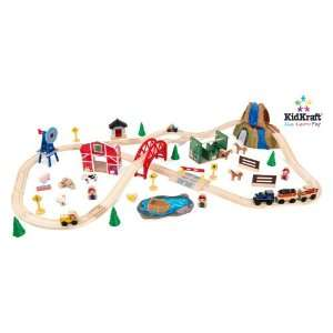 Farm Train Set in Multi Color   KidKraft Furniture   17827
