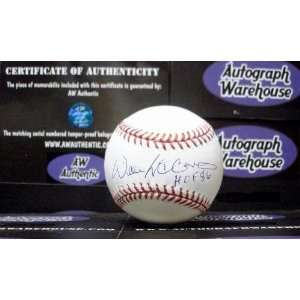 Willie McCovey Autographed/Hand Signed Baseball inscribed