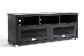 MODERN WOOD VENEER LCD DLP PLASMA HD TV MEDIA CONSOLE STAND CREDENZA
