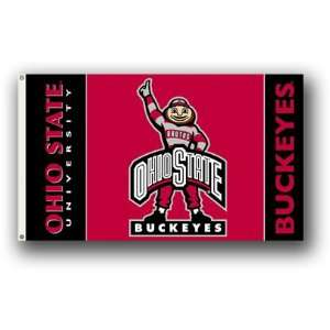 the best attitude 3730a a8524 ... NCAA Ohio State Buckeyes Brutus 3 by 5 Foot Flag w ...