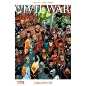 Civil War Companion (Marvel Comics) [Paperback] Mark Millar Books