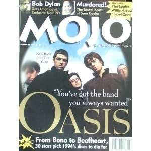 Mojo Magazine Issue 14 (January, 1995) (Oasis cover