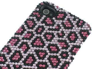 SUPER BLING RHINESTONE CRYSTAL BACKPLATE CASE COVER APPLE IPHONE 4 4S