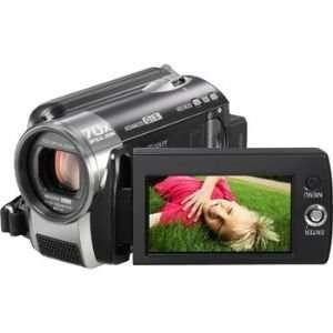 Panasonic SDR H80K SD and HDD Digital Camcorder (Black