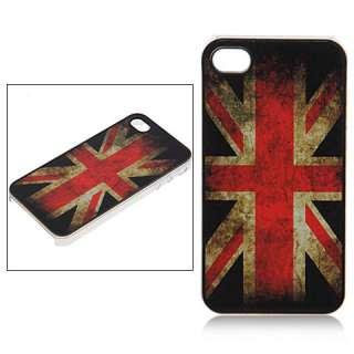 Case Vintage British Flag pattern Hard Cover Union Jack UK Flag