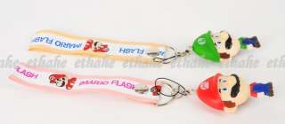 Super Mario Luigi Camera Phone Strap Lanyard EGG16K