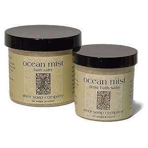 River Soap Company Jar Bath Salt, Ocean Mist, 16 Ounces: Beauty