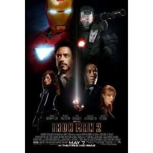 Iron Man 2 Single Sided Original Movie Poster 27 x 40