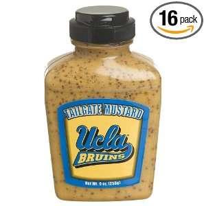 Tailgate Mustard University Of California, Los Angeles, 9 Ounce Jars