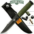 Field and Stream Mini Survival Knife buck gerber ipod survival hunting