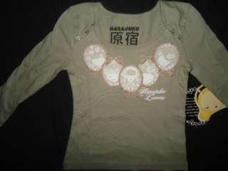 NEW GIRLS HARAJUKU LOVERS CAMEO LU FRAME ANGEL SHIRT 4