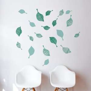 Strim (green) Wall Decal Color print