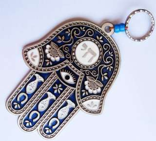 Decorative Hamsa Hand Wall Hanging Amulet Evil Eye Protection Charm