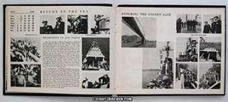 USS QUINCY CA 71 MEDITERRANEAN CRUISE BOOK 1952