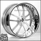 20 ACE EMINENCE BLACK RIMS WHEELS FOR MUSTANG LEXUS IS250 GS300