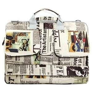 newspaper pattern only for 14 Toshiba Dell HP Lenovo Sony+ Cosmos