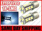 Error Free / No Error 18 SMD LED Front Turn Signal Light Bulbs Canbus