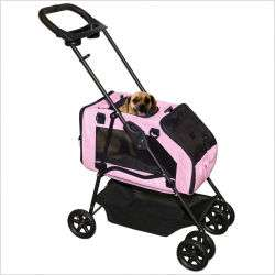 Pet Gear Dog Cat Carrier Strollers Car Seat PG8500PI