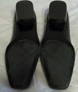 Easy Spirit Farriss Black Comfort Low Heel Shoes 5 1/2B
