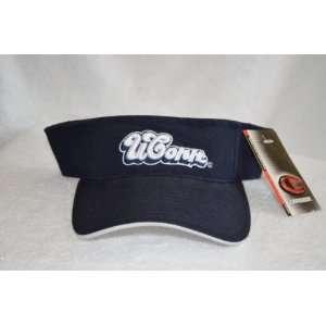 Huskies Visor Hat   UCONN NCAA Baseball Golf Cap