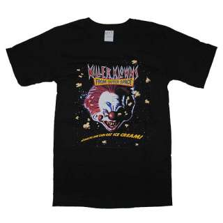 Killer Klowns From Outer Space Mens Black T Shirt XL