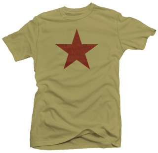 Red Star CCCP USSR Russian Military Army T shirt