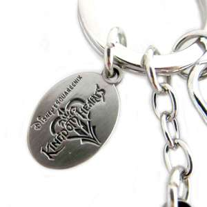 Disney Kingdom Hearts Soras Keyblade Pewter Key Ring