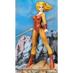Thundercats Cheetara on Thundercats Cheetara 11 Inch Statue  Toys   Games