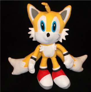 Tails Sonic Hedgehog 15 Yellow Plush Stuffed Animal