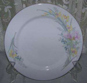 JAMESTOWN CHINA Jam2 Dinner Plate PINK YELLOW FLORAL