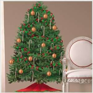 Build A Christmas Tree Wall Decal Stickers  A Trendy Home