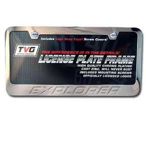 Ford Explorer OEM Chrome plating License Frame Automotive