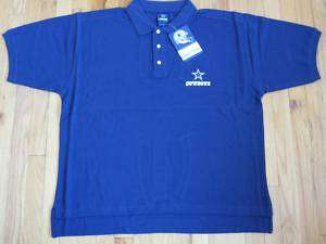 Dallas Cowboys NFL Reebok Polo Shirt Sideline Mens M