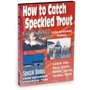 Bennett DVD How To Catch Speckled Trout and Tie Fishing