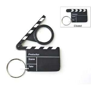 Clapboard Theatrical Keychain