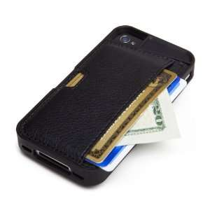 CM4 Q4 BLACK iPhone Wallet Card Case for iPhone 4/4s   1